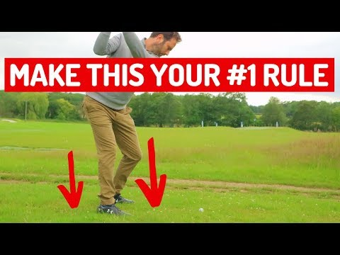 MAKE THIS THE #1 RULE FOR YOUR BACKSWING
