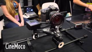 Cinetics Camera Dollies at SXSW Trade Show