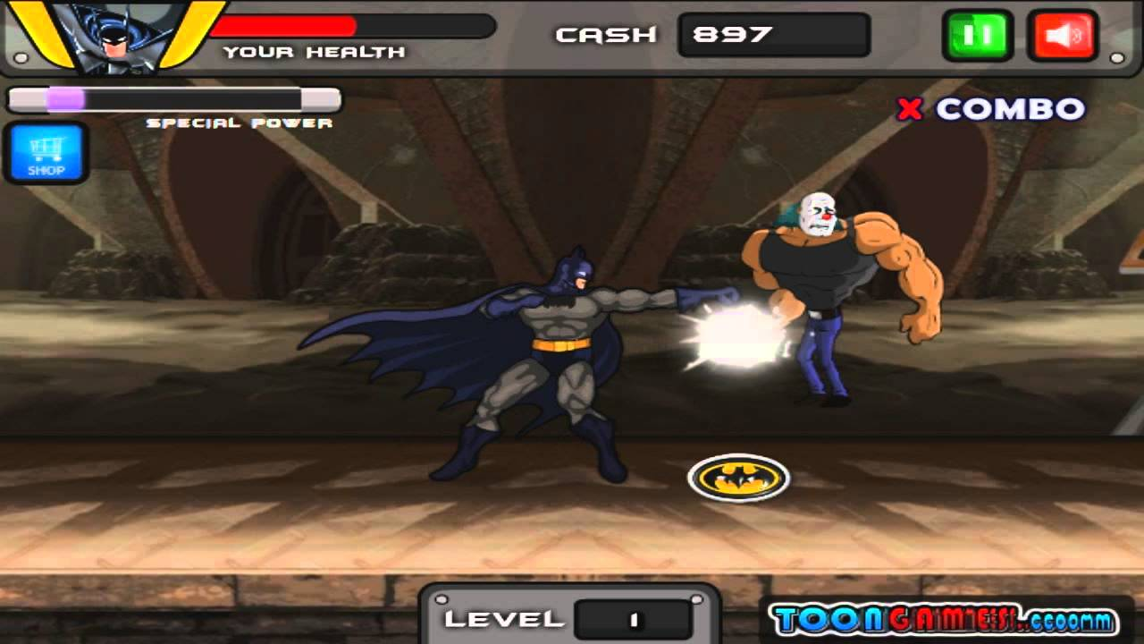 Batman Fighting Game Play Free Online For Kids Youtube