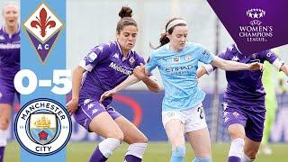 5-0 CITY! | HIGHLIGHTS | Fiorentina 0-5 City | Mewis, Weir & White shine! | WCL