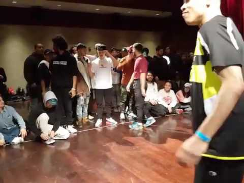 Rony and RTHYM vs Mikey and Divine   Breaks U 2017: Graduation