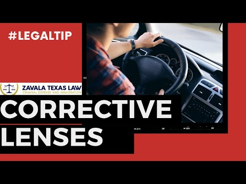 2e101566dc Corrective Lenses Restrictions - YouTube