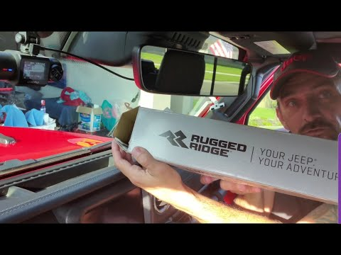 Review Of Rugged Ridge Multi-Mount Dash Phone Holder For Jeep Gladiator