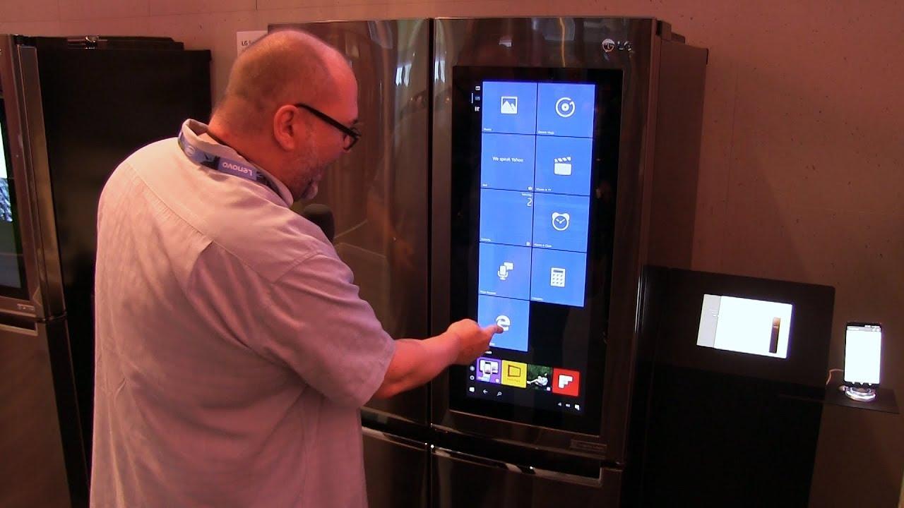 Side By Side Kühlschrank Conrad : Lg kühlschrank mit windows 10: die abgefahrene seite der ifa hands