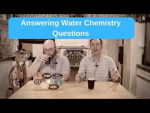 Answering Water Chemistry Questions