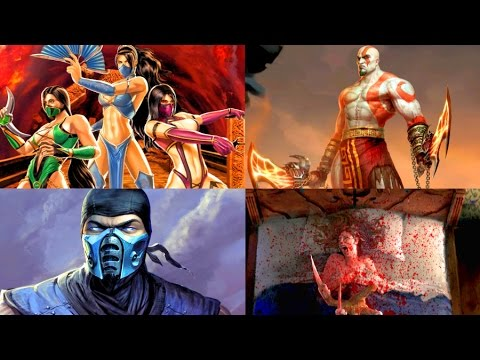 Mortal Kombat IX All ENDINGS (All DLC Characters Included)