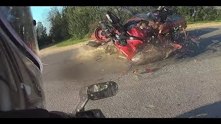 Hectic Motorcycle Crashes & Crazy Moto Moments 2018