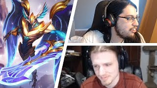 IMAQTPIE And HASHINSHIN Reacting To New Aatrox FUNNIEST MOMENTS OF THE DAY #194