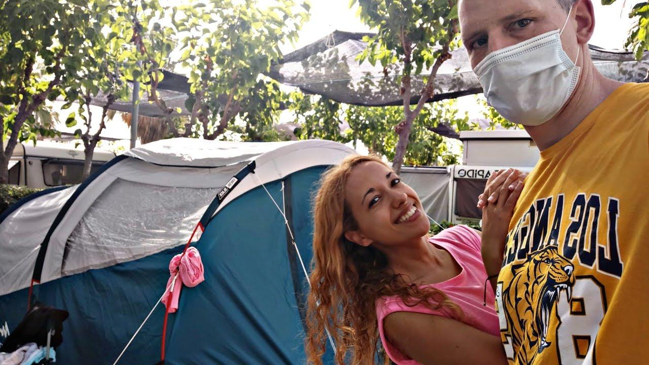 Nuestra primera acampada en tienda de campaña/ Kikopark 2021/ Vir Granados