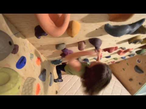 Build an Amazing Home Rock Climbing Wall for Your Kids