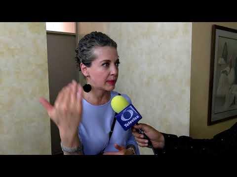Edith González en entrevista sobreviviente de cancer