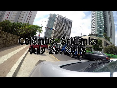 Colombo, Srilanka in 4K UHD Resolution