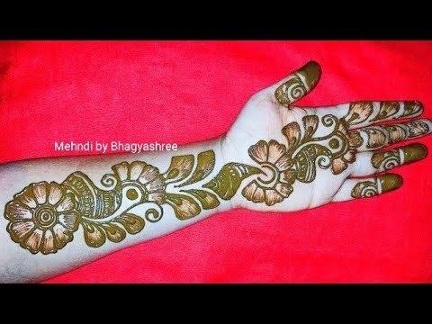mehandi design arabic style