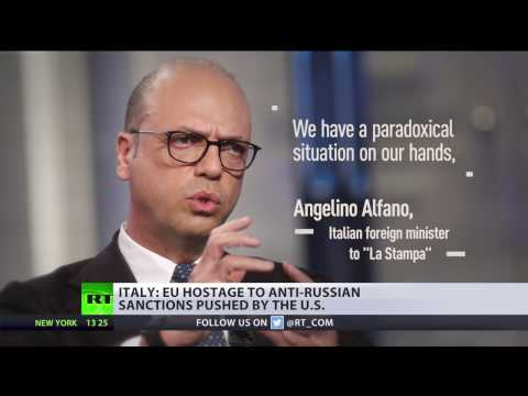 EU & Italy 'remain hostage' to sanctions against Russia – FM Angelo Alfano