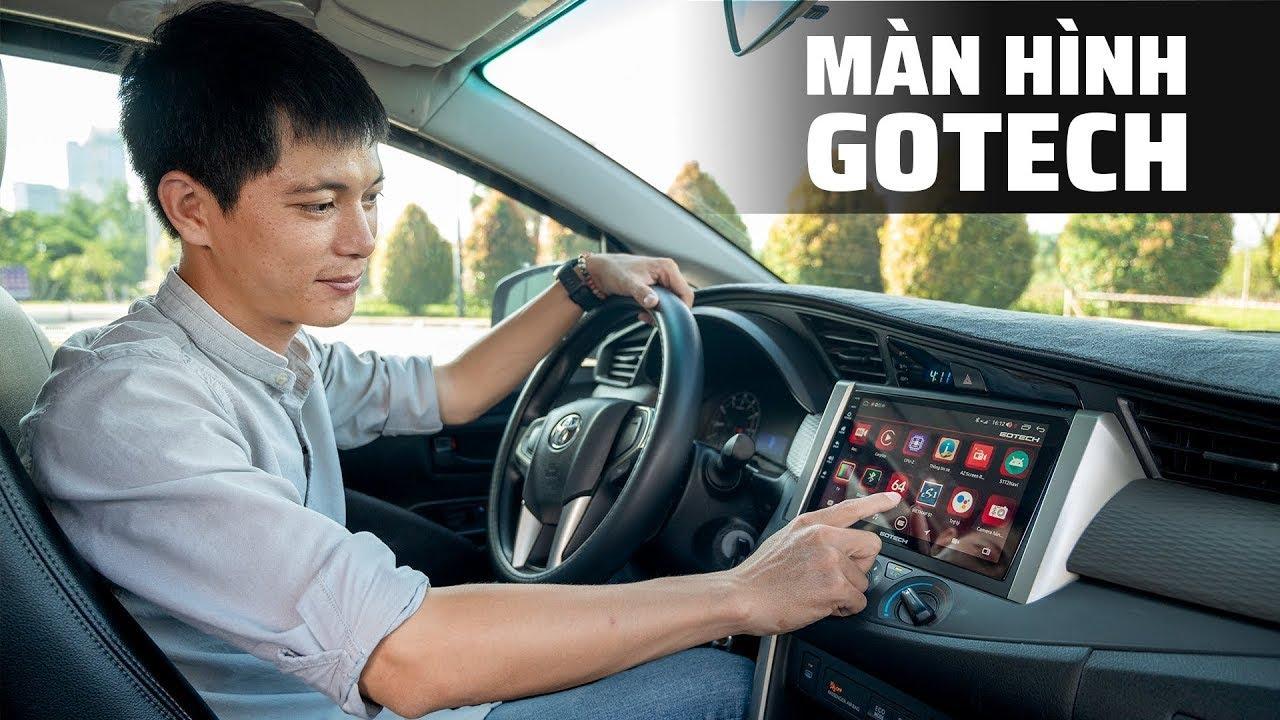 Trên tay màn hình ô tô thông minh GOTECH GT8 Max, xe phổ thông có Apple CarPlay xịn như BMW
