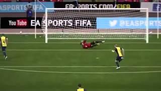 FIFA 15 — лучшие голы №1