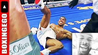 "DEONTAY WILDER BEATS ANTHONY JOSHUA!: ""AJ DON'T KNOW HOW 2 GET AWAY FROM RIGHT HAND; WILDERS WEAPON"""