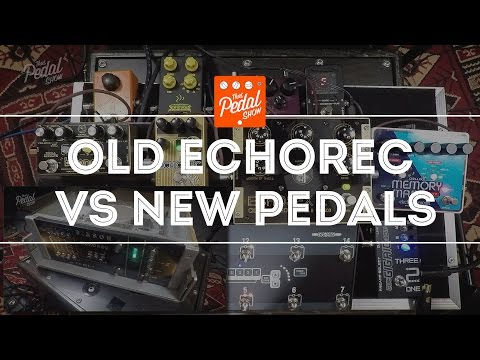 That Pedal Show – Real Binson Echorec vs Catalinbread, Boonar & Echosex