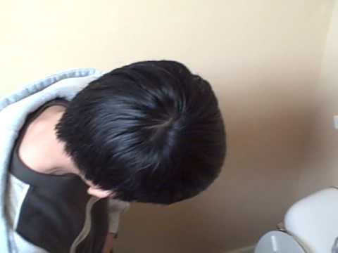 Asian Taking A Leak.