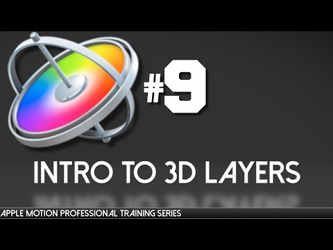 Apple Motion Professional Training 9- 3D Layers