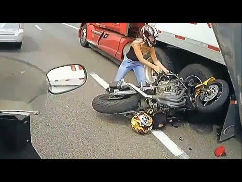 Most Dangerous || funny || crazy || Crashes Bike Accident in World Horrible