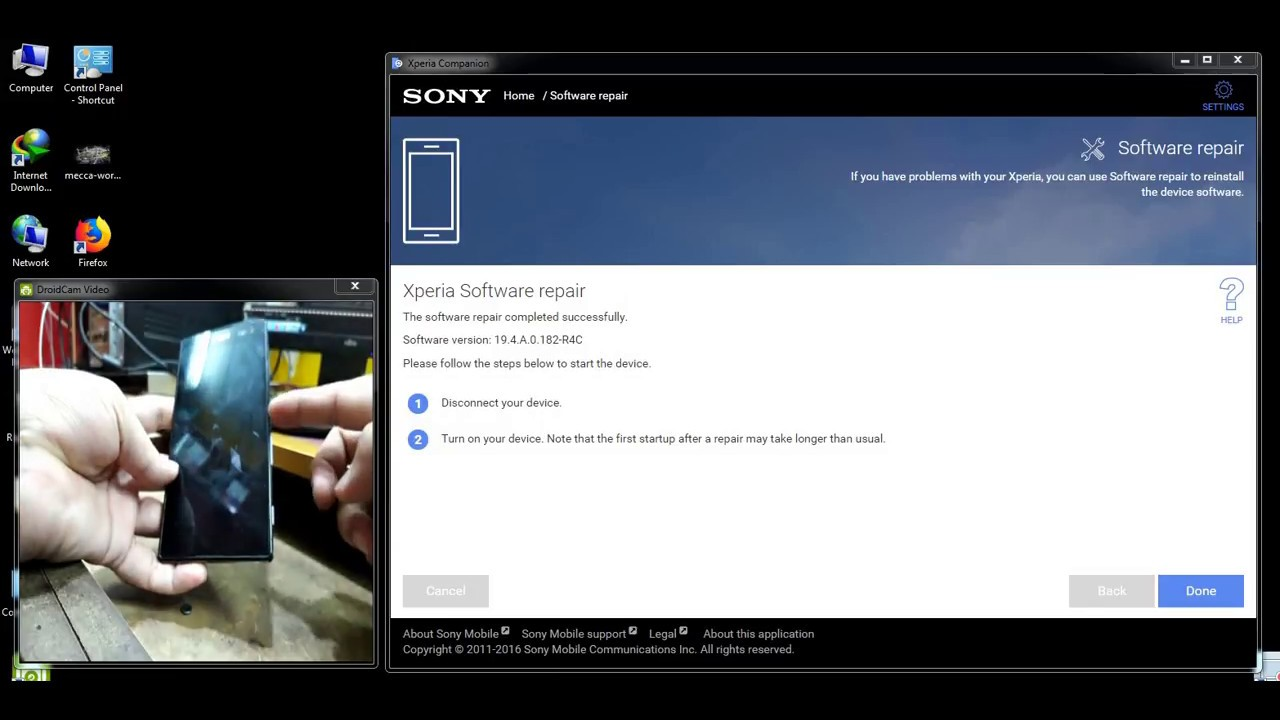 How To Update Sony Xperia C3/ with Xperia Companion