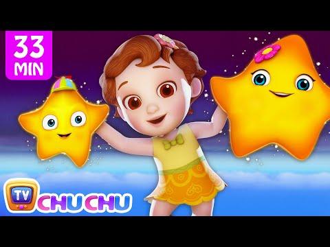 Twinkle Twinkle Little Star + More 3D Nursery Rhymes & Kids Songs - ChuChu TV