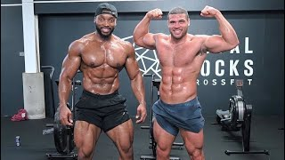 Training with THE BIGGEST Crossfit Regional Athlete | ZACK GEORGE
