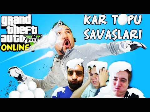 KARTOPU SAVAŞLARI! | 4 FACECAM-EKİPLE  GTA 5 ONLINE