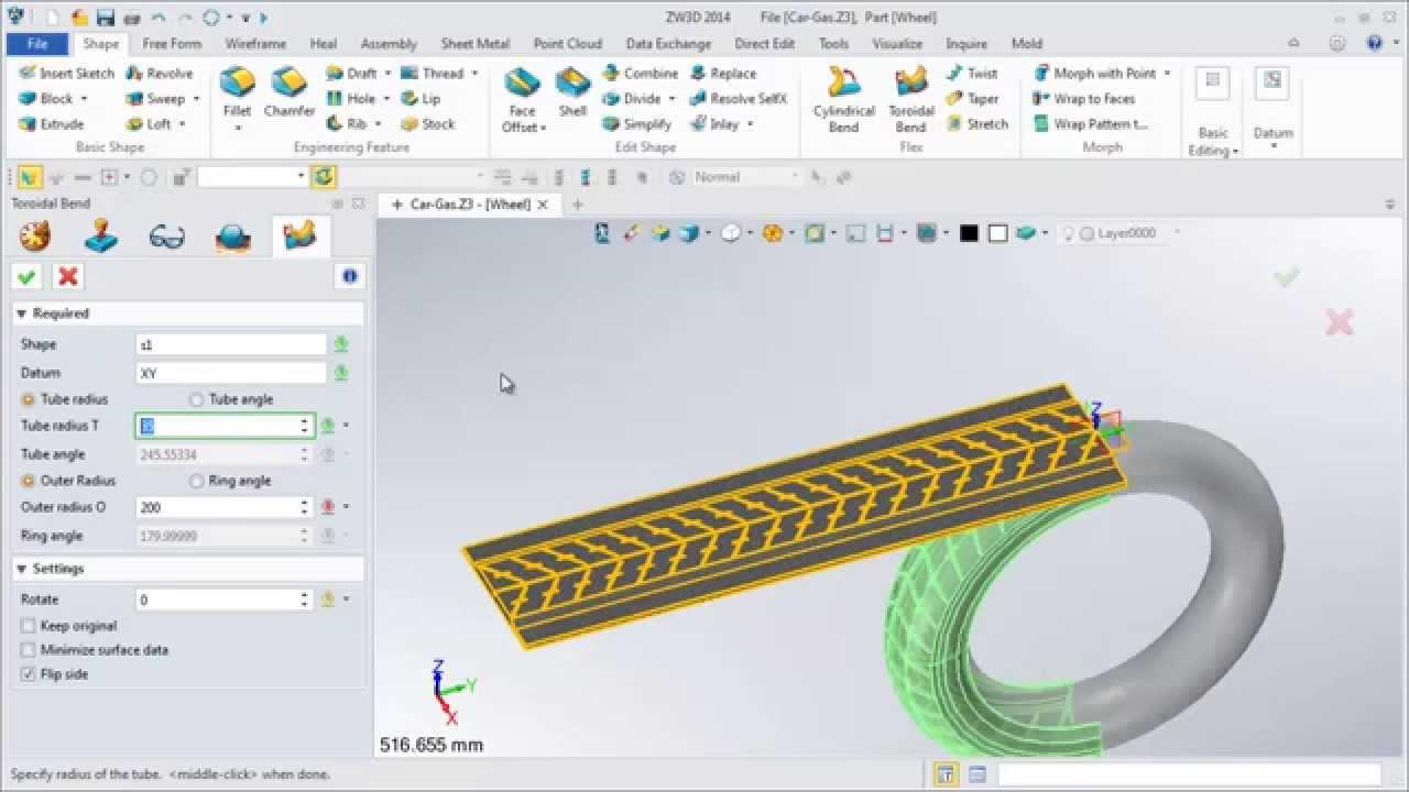 ZW3D Flex Tools Cases