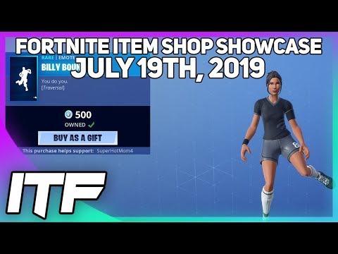 Fortnite Item Shop SHORT SHOP! [July 19th, 2019] (Fortnite Battle Royale)
