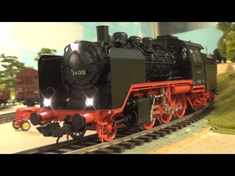 """Lenz Br 24 002 """"Steppenpferd"""" """"Steppe Hest""""   - Deutsche Reichsbahn """"Baureihe 24"""""""