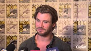 Comic-Con 2014: 'Avengers: Age of Ultron' Cast Interviews Thumbnail