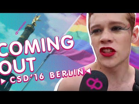 Gay Pride Berlin 2016 | CSD Berlin  2016: Coming Out