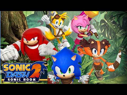 SEGA Sonic Dash 2 Sonic Boom Android İos Free Game GAMEPLAY VİDEO