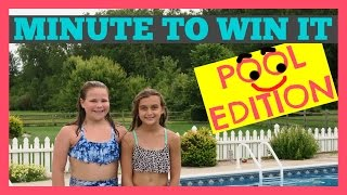 MINUTE TO WIN IT CHALLENGE - POOL EDITION!