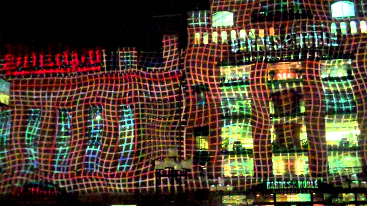 Charming 2012 Inner Harbor Light Show At Power Plant Nice Look