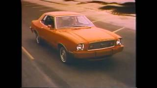 1976 Ford Mustang TV Ad Commercial (1 of 5)