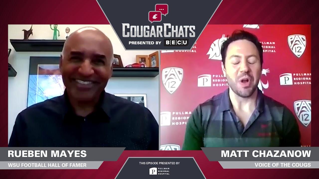 Image for WSU Athletics: Cougar Chats with Cougar Legend Rueben Mayes webinar