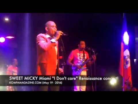 "SWEET MICKY ""I Don't Care"" Miami Renaissance concert (May 19 - 2016)"