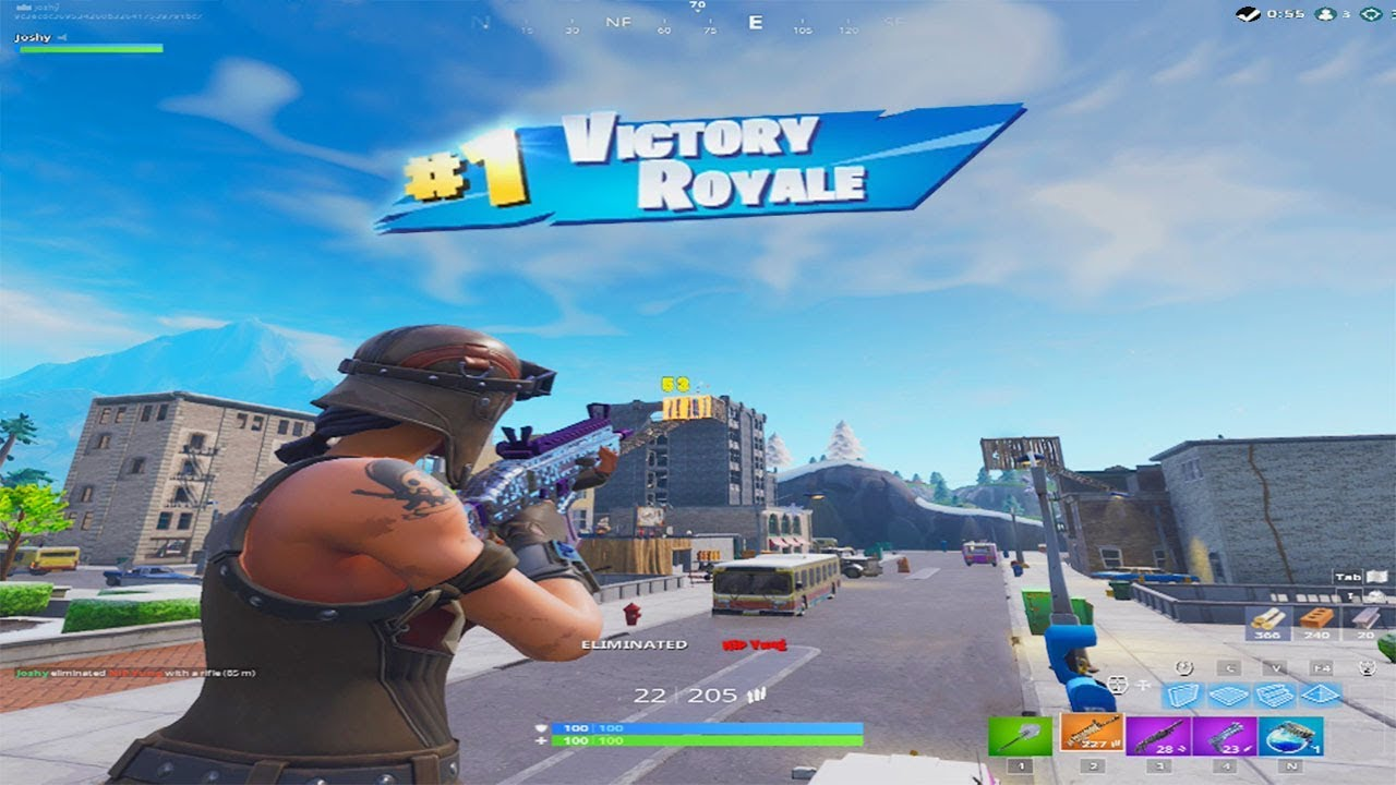 stretched resolution  fortnite
