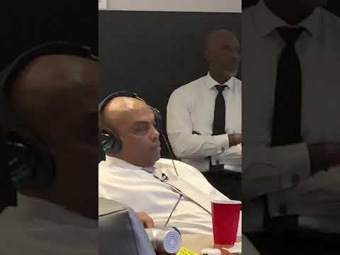 Zion and Chuck's similarities are true- here is a video of Charles Barkley napping at work