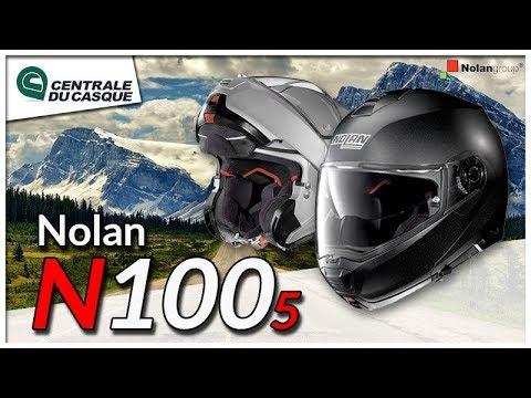 Casque Modulable Nolan N100 5 Centrale Du Casque Com