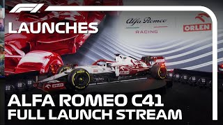 Alfa Romeo Reveal Their 2021 Car: The C41