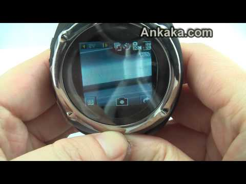"""M-Watch Q9 (Black):Camera,MP3 Player,1.5"""" Touch screen Watch Cell Phone 