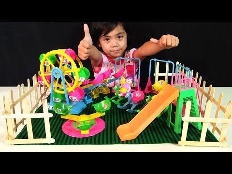 Bikin Miniatur Playground Dengan Mainan Anak