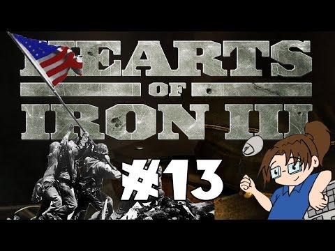 Hearts of Iron 3 - United States of America - Ep 13 [Retaking Wake Island]
