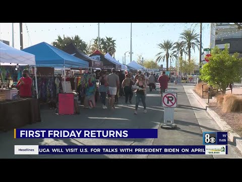 Sign of Recovery: First Friday bounces back in Downtown Las Vegas