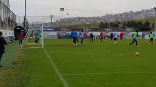 Trabzonspor Alanyaspor maçı hazırlıklarına başladı -gol batuhan artarslan-