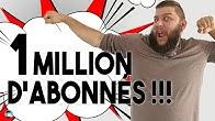 1 million d'abonnés en parlant...d'HISTOIRE !